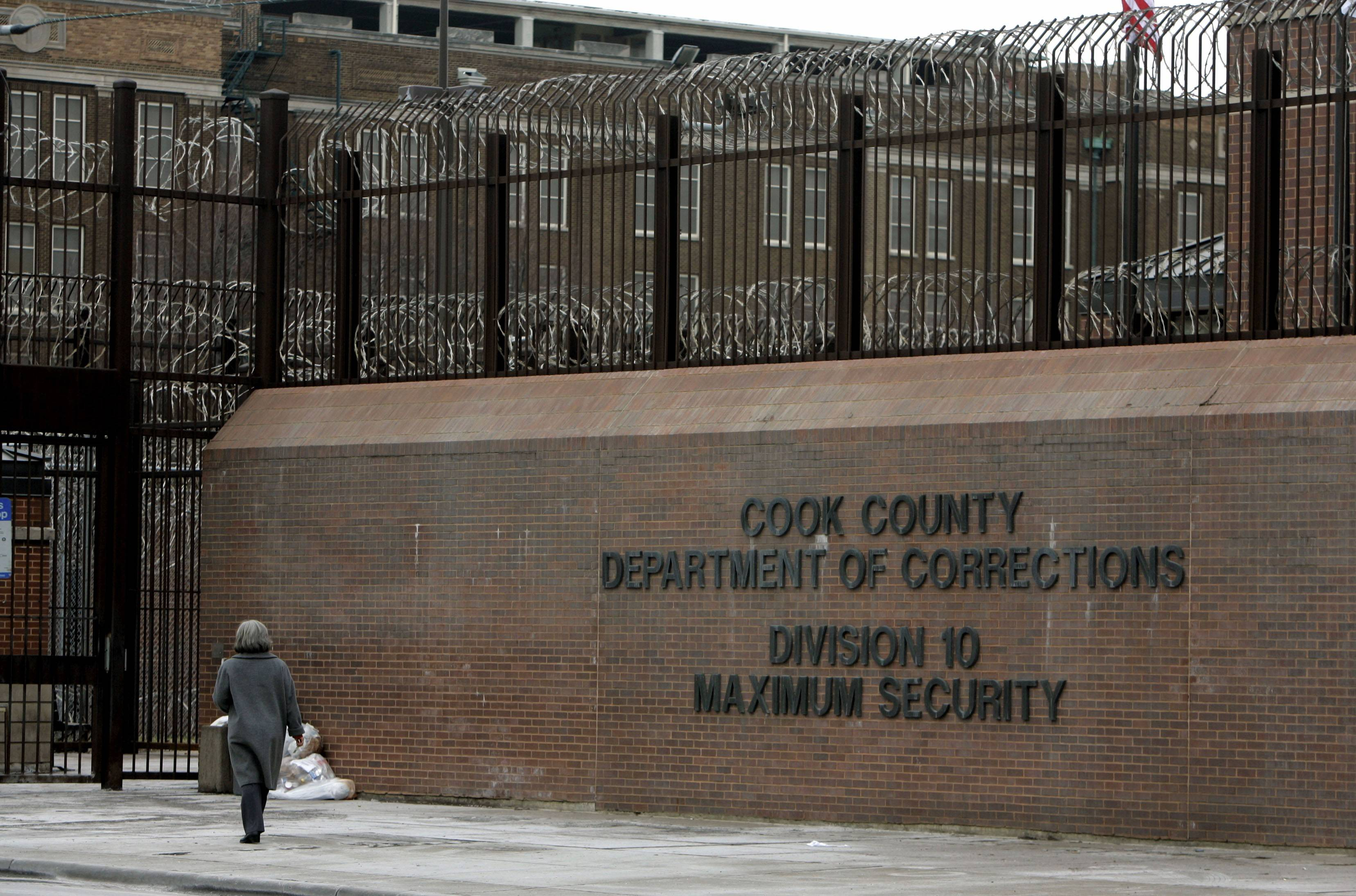 Cook County officials announced plans Wednesday to demolish three buildings at its jail complex in Chicago. The project will save millions of dollars and reduce jail capacity by about 15 percent, proponents say.