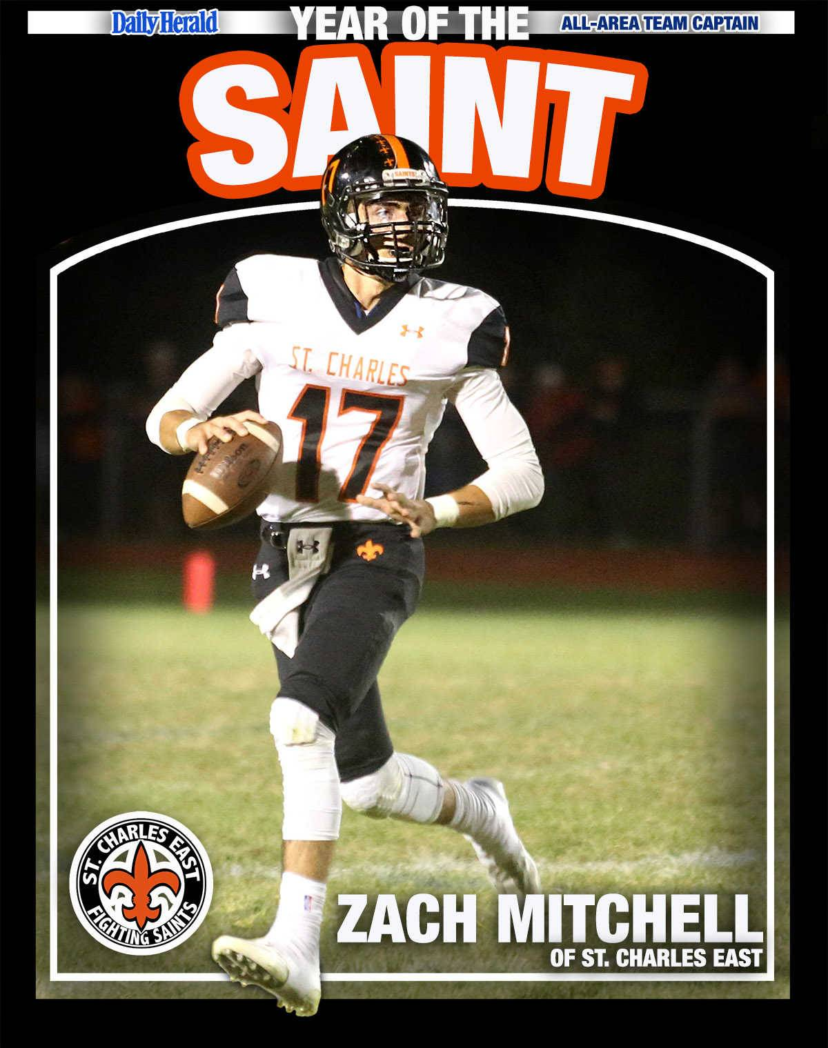 Zach Mitchell of St. Charles East