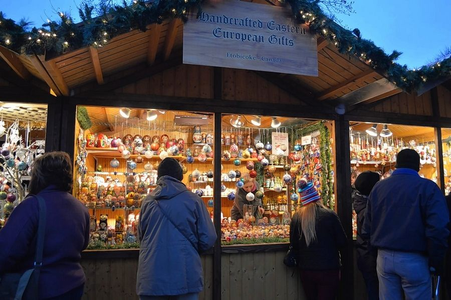 Opening weekend at Christkindlmarket Naperville at the Naper Settlement drew large crowds beginning on Black Friday as shoppers browsed German- and European-made treasures and treats.