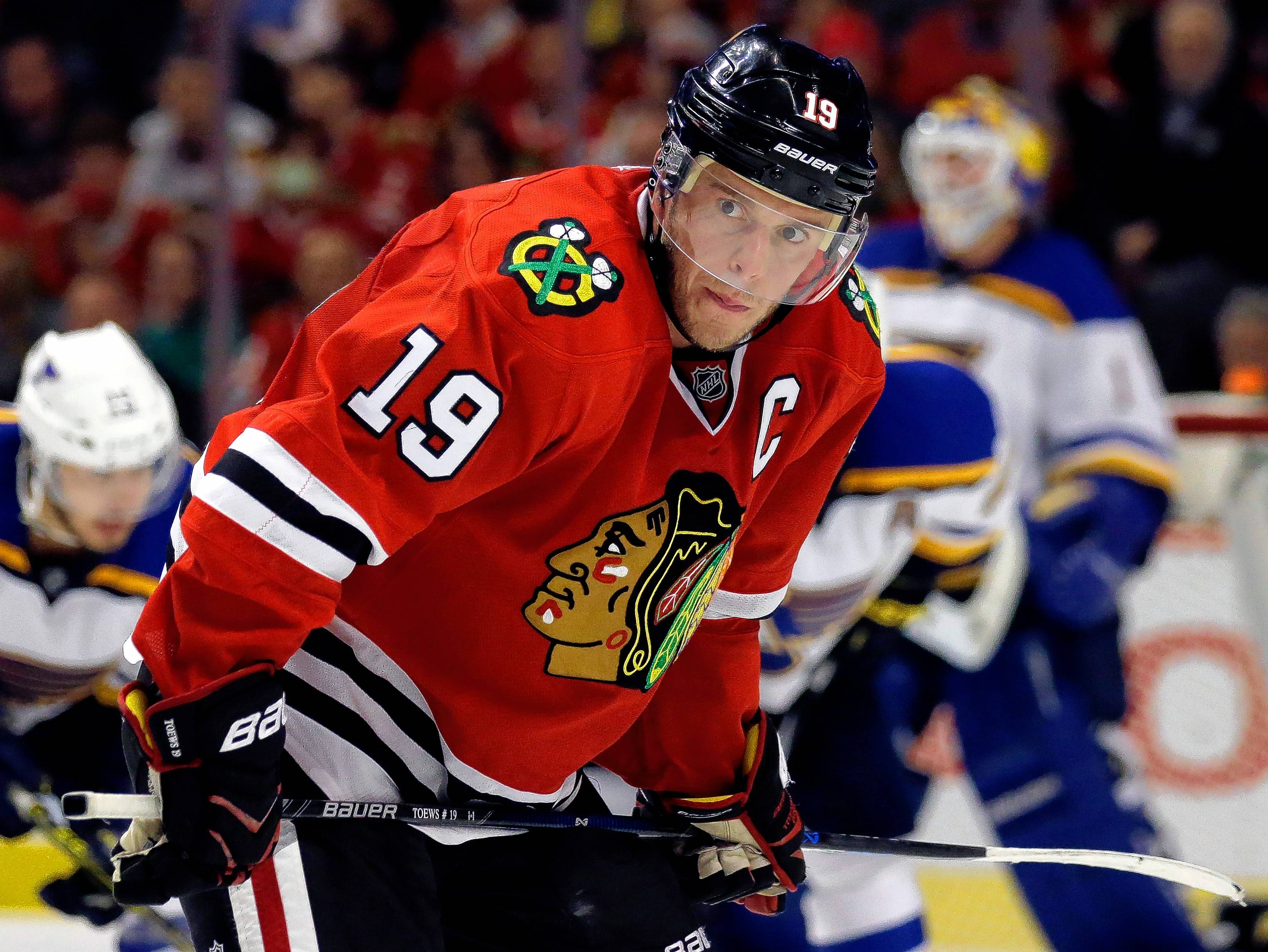 Blackhawks defenseman Trevor van Riemsdyk has been recalled from the injured reserve list to play in Saturday's game. Jonathan Toews, meanwhile, was put on the IR list retroactive to Nov. 24.