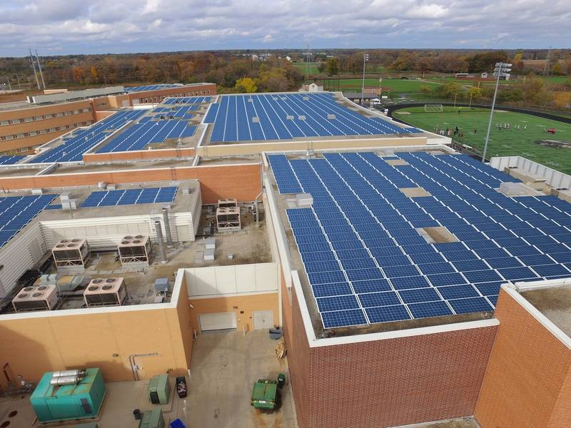 Solar energy coming to Grayslake high schools
