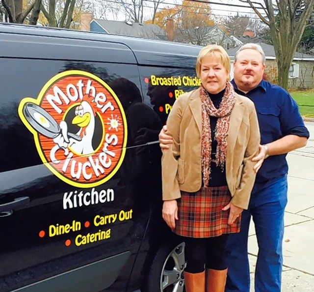 Richard Schweigel, with wife Penny Schweigel, of Mount Prospect are owners of Mother Cluckers restaurant in Chicago. They are looking to add a suburban location.