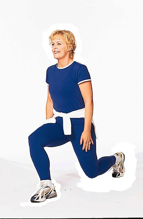 Lunges are a great exercise you can do just about anywhere.