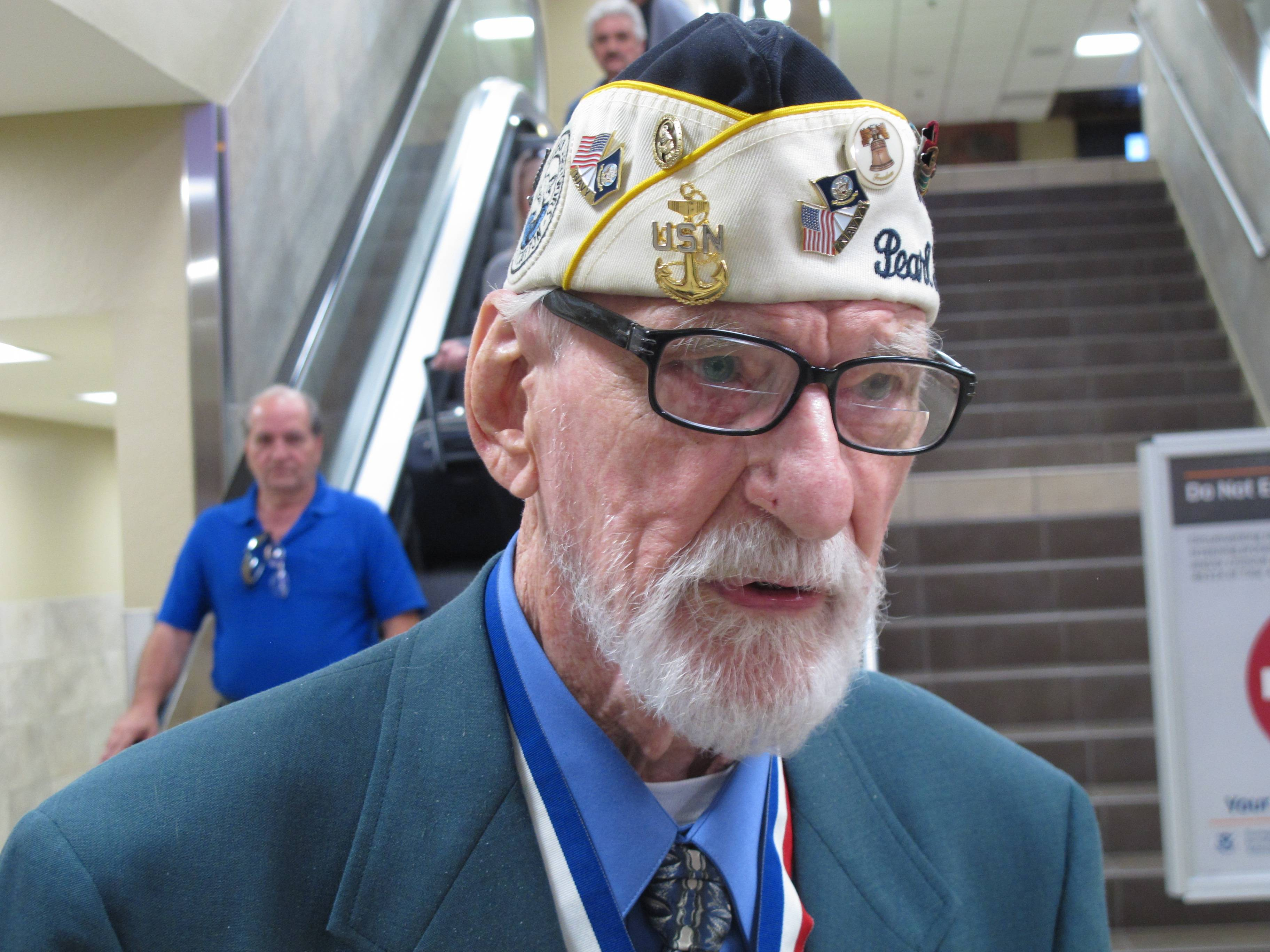 Pearl Harbor survivor Charles T. Sehe, 93, was nearly killed on board the USS Nevada during the attack on Pearl Harbor and continued to serve on the battleship when it aided in the invasions at Normandy and Iwo Jima during World War II.