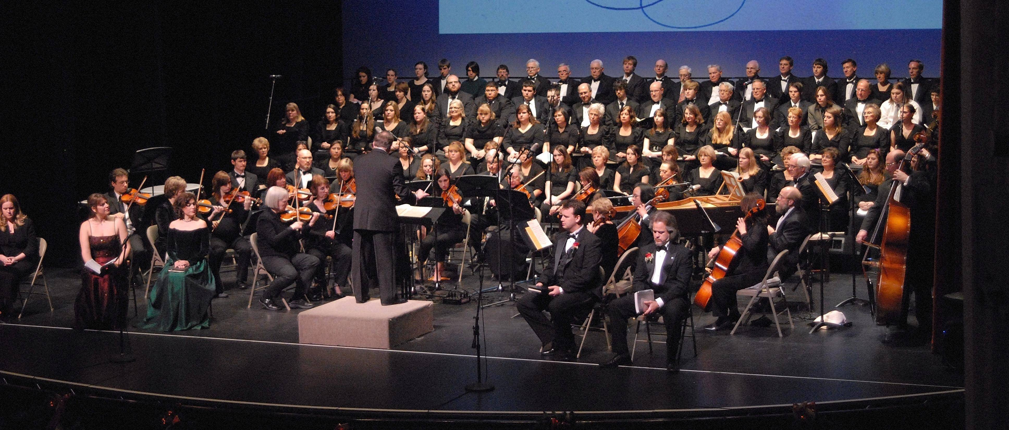 "Voices in Harmony will perform a singalong version of Handel's ""Messiah"" on Sunday, Dec. 11 at the Raue Center for the Arts in Crystal Lake."