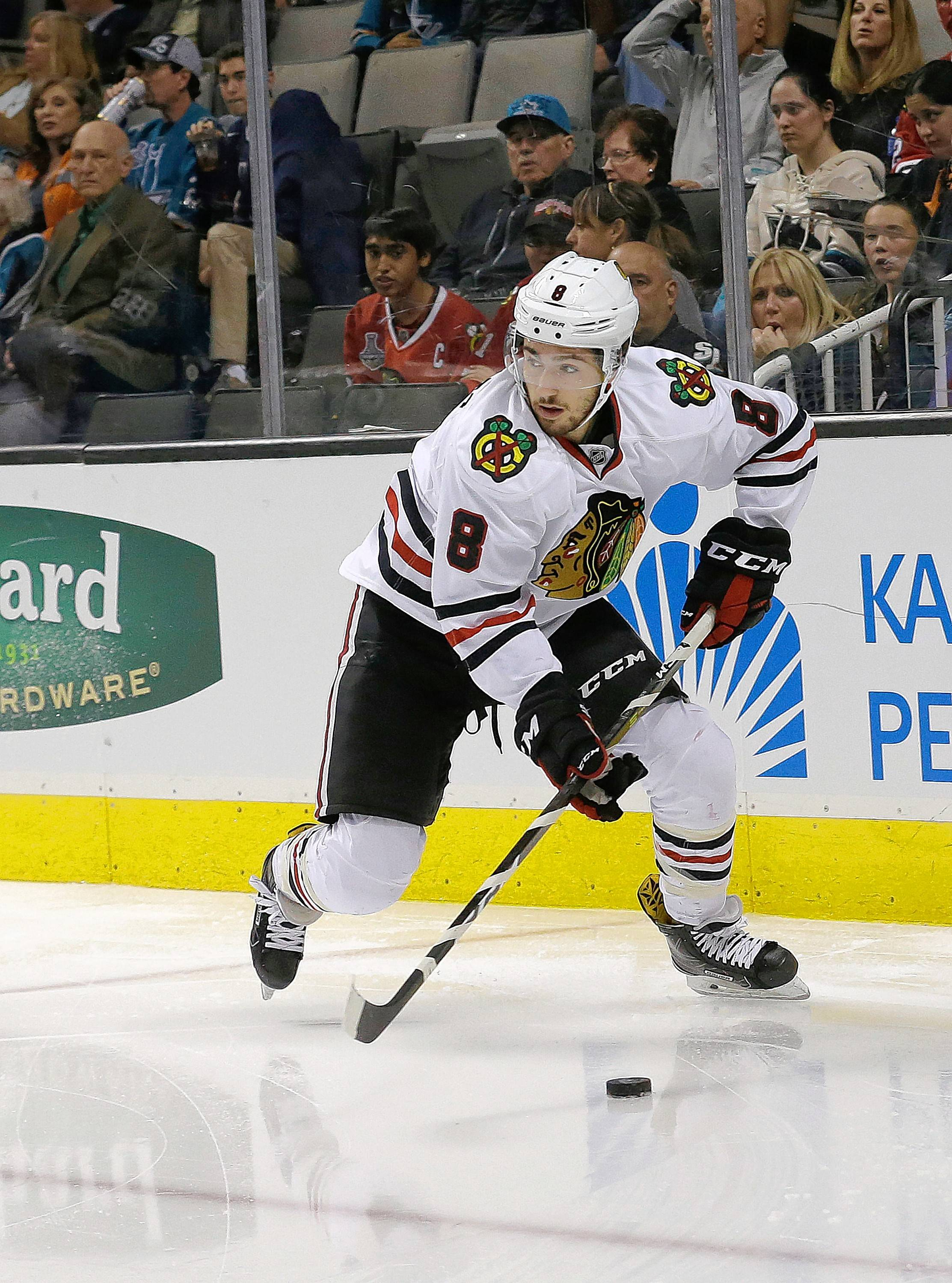 Blackhawks' Schmaltz will now try and get his game going in AHL