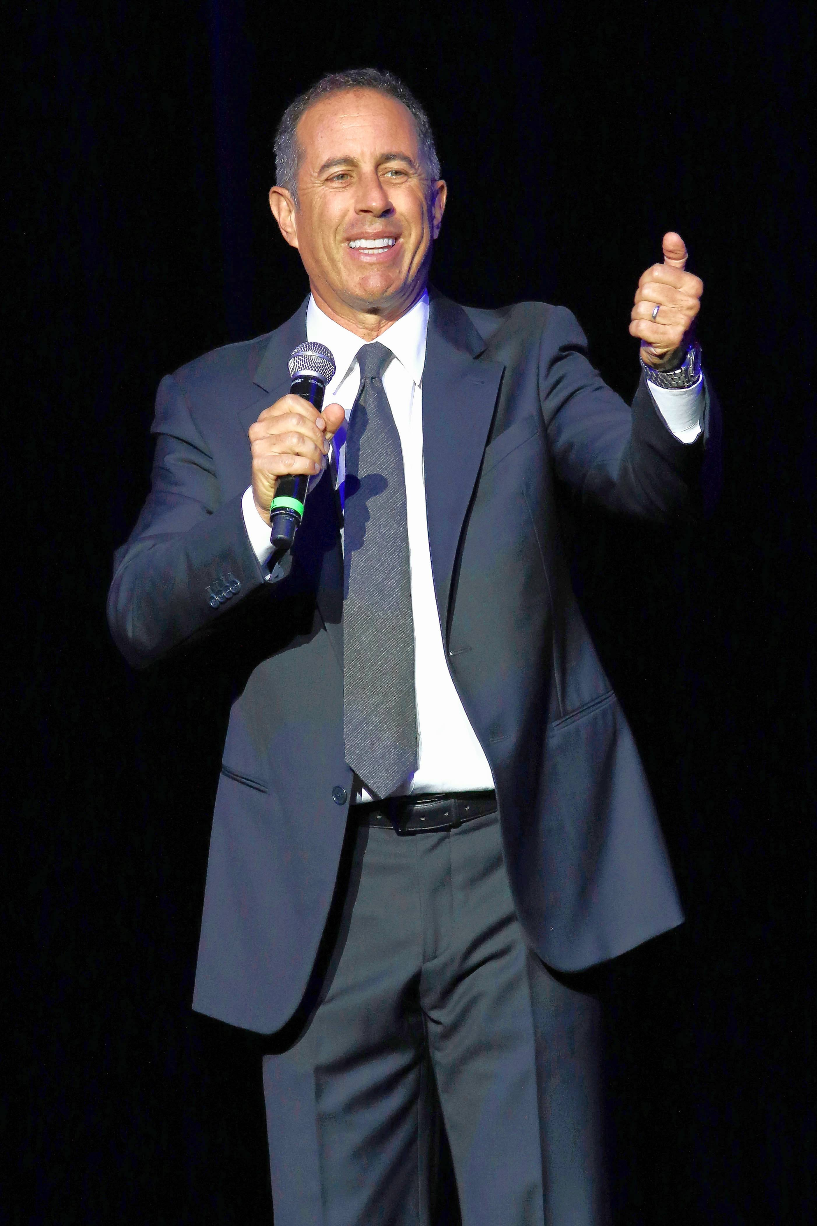 Jerry Seinfeld performs four shows at the Chicago Theatre on Thursday and Friday, Dec. 8 and 9.