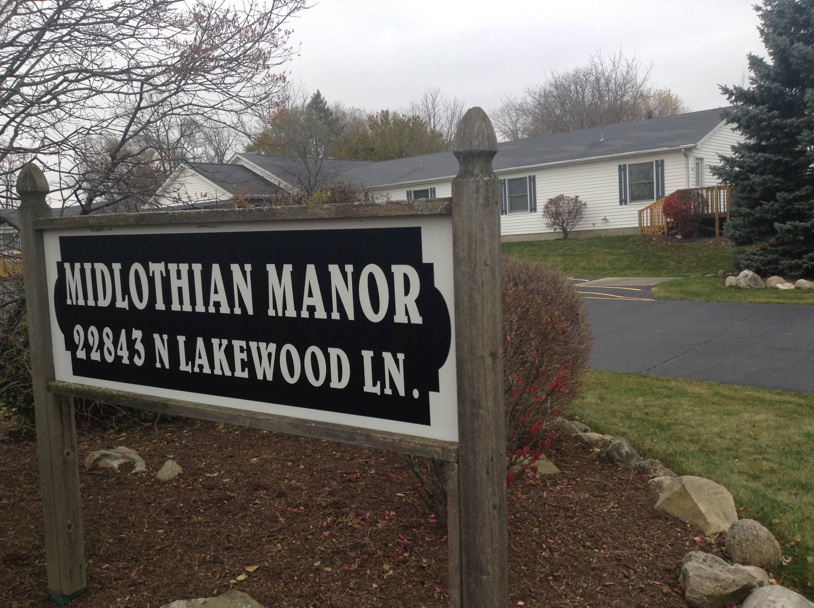 At least 13 Lake Zurich-area residents are continuing their fight against a proposal that would allow chronically homeless people with mental illness to live in this publicly owned building in their neighborhood. Midlothian Manor is at Midlothian Road and Lakeview Lane in Ela Township, on Lake Zurich's northern edge.