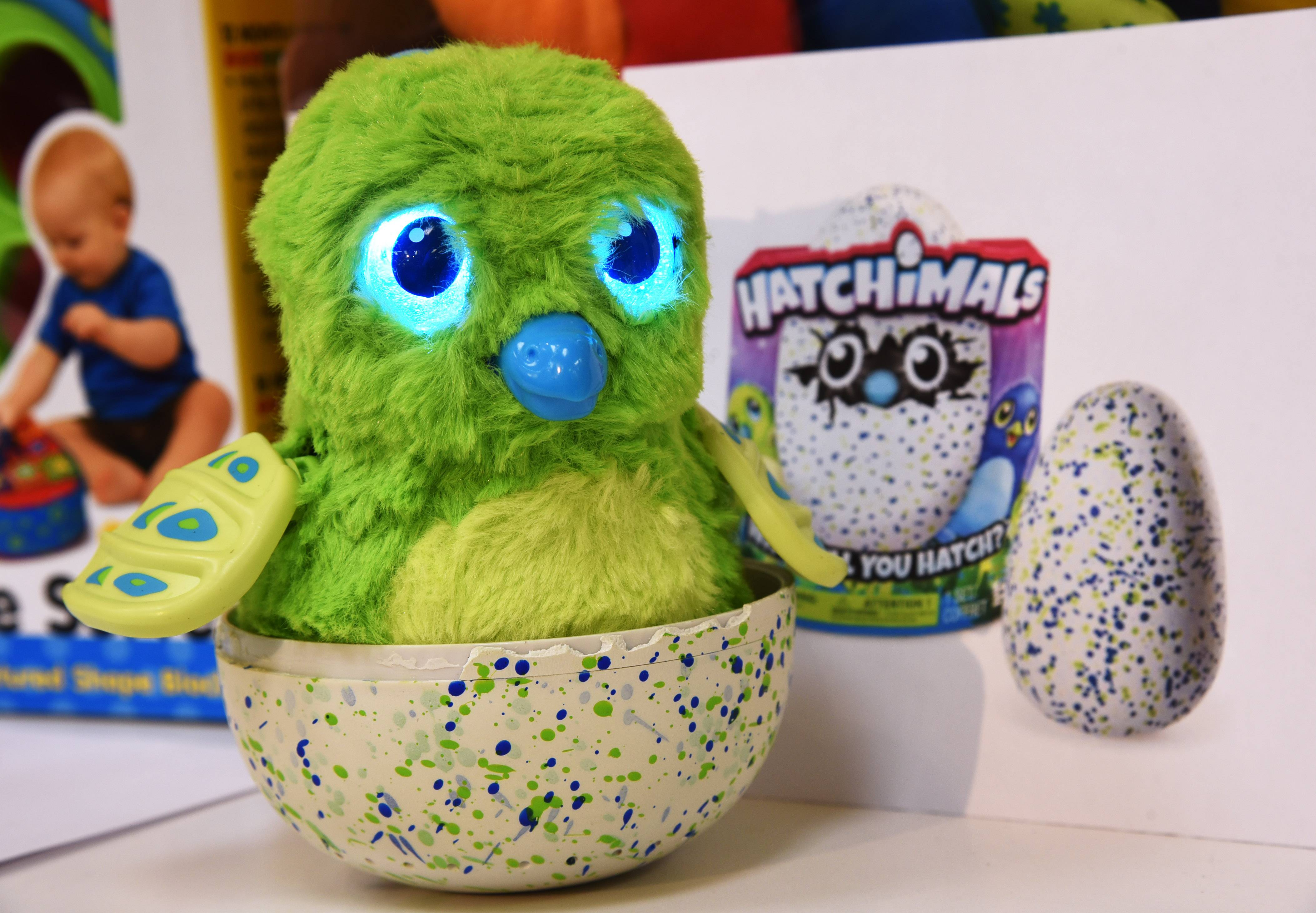 Hatchimals sold out quickly at the Lake Zurich Learning Express store.