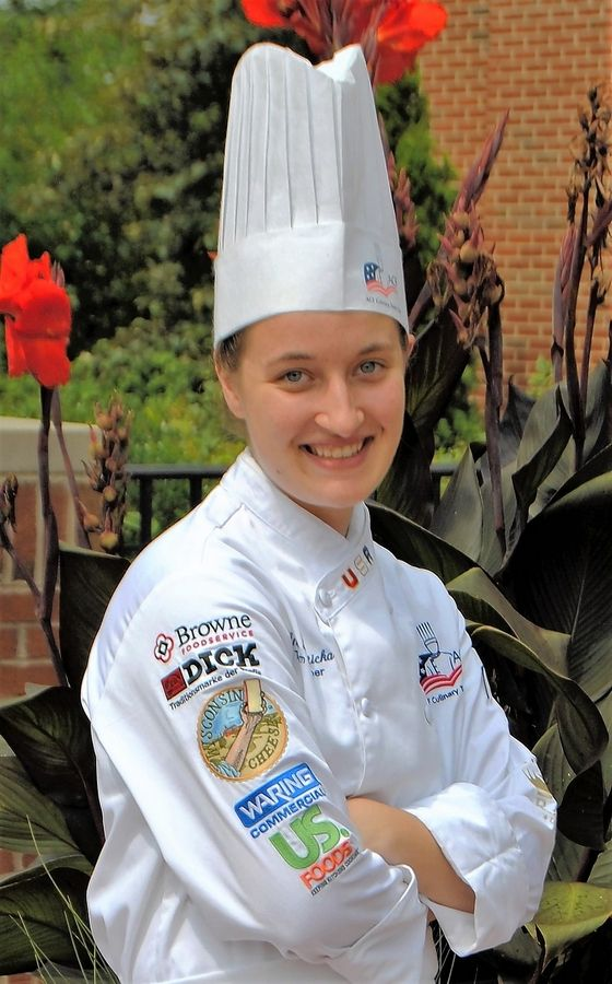 Anica Hosticka, a 2016 alum of TCD's culinary program and West Chicago Community High School, is continuing her culinary education through a three-year apprenticeship at the University of Notre Dame via the South Bend American Culinary Federation Chefs and Cooks Apprenticeship Program.