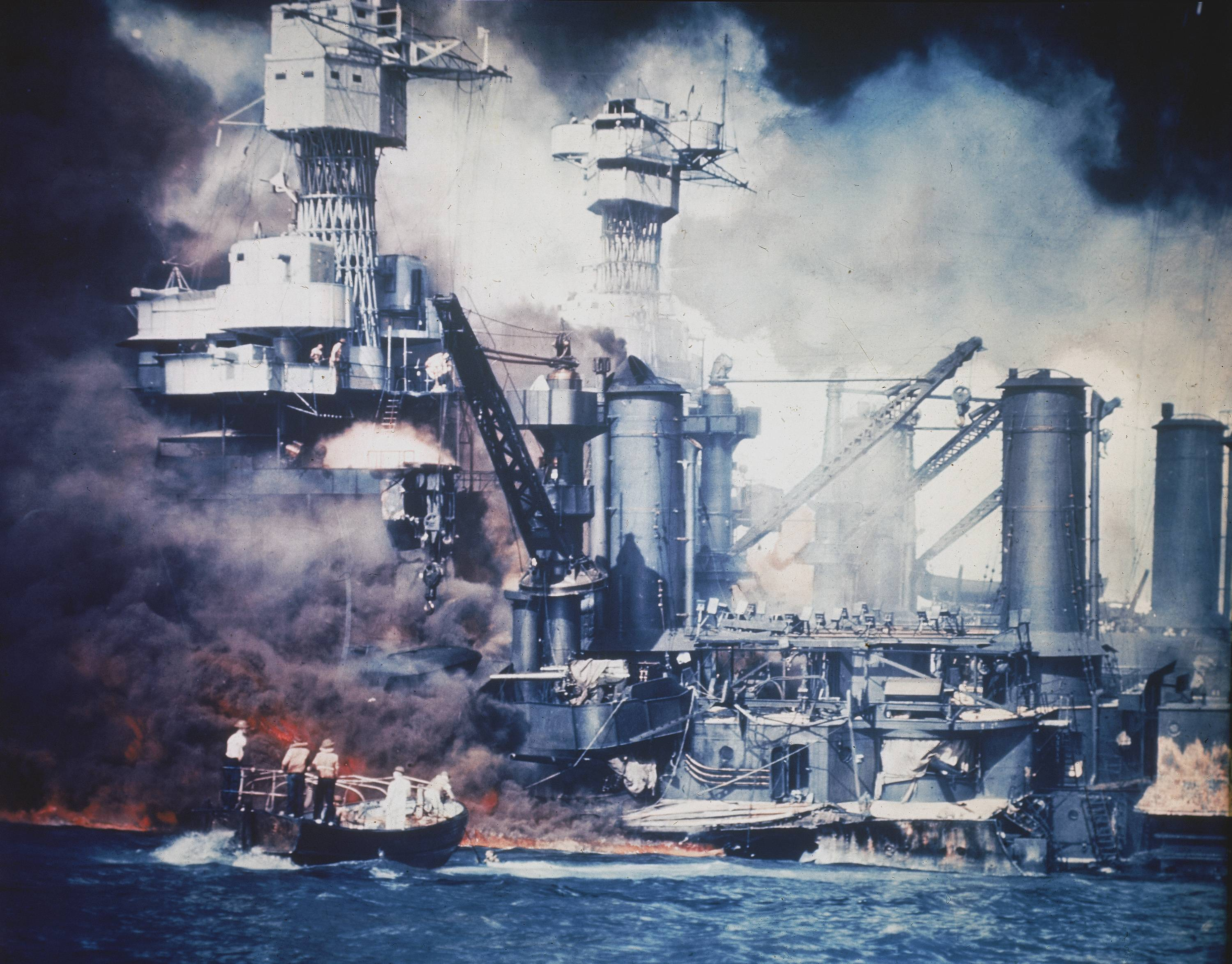 a history of the bombing of pearl harbor during the second world war A summary of japan and pearl harbor in history sparknotes's scene, or section of world war ii (1939–1945 a second attack wave of more than 160 planes.