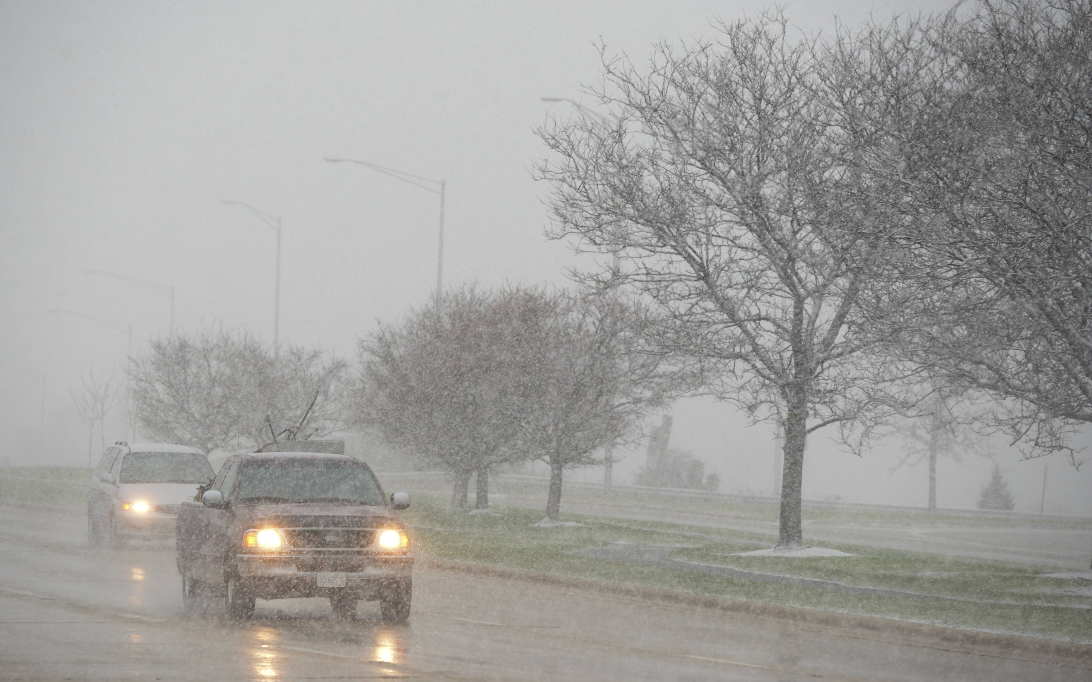 The suburbs could see 6-10 inches of snow this weekend.