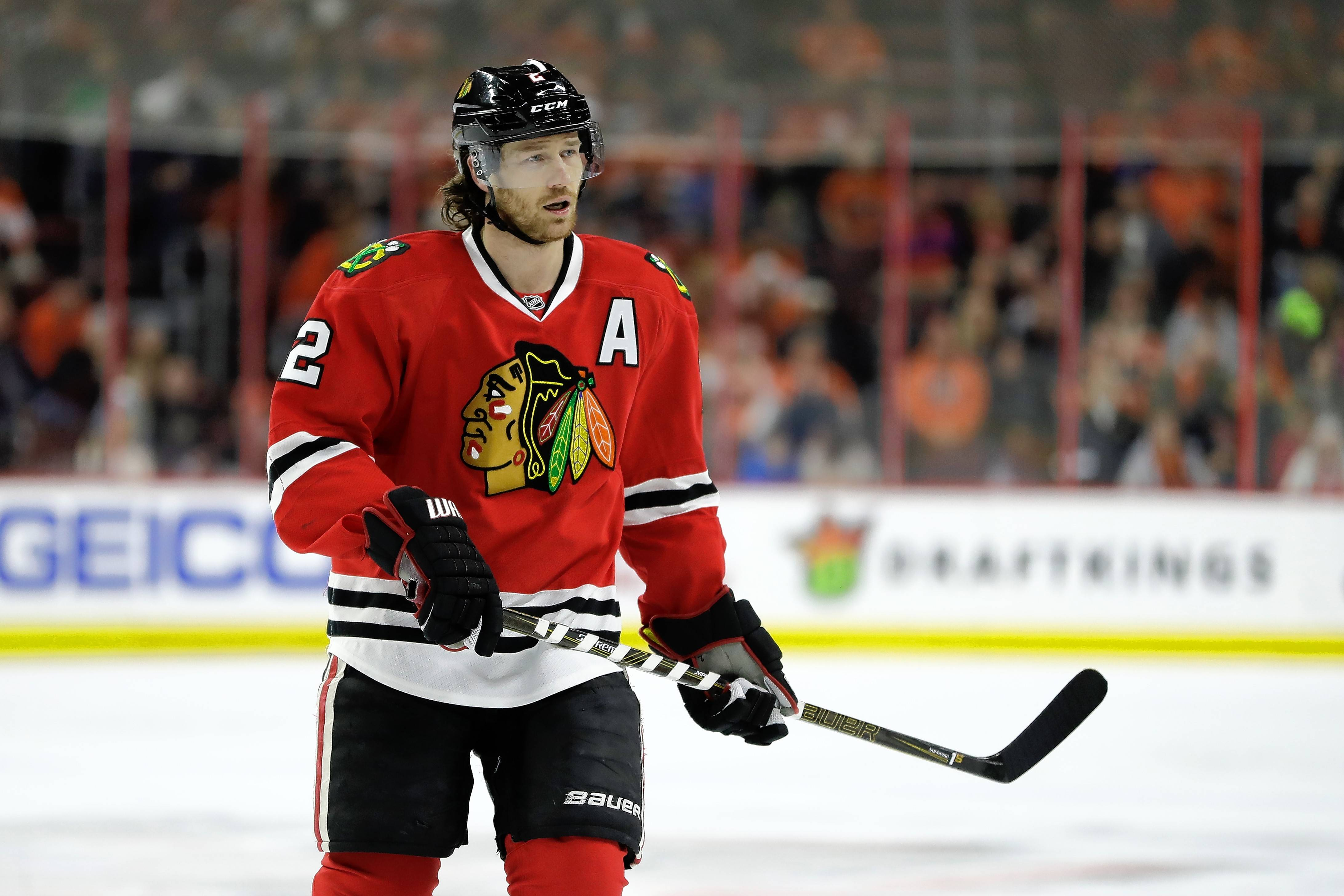 Chicago Blackhawks defenseman Duncan Keith has yet to score a goal this season. It's only the second time in his career that Keith has gone this long without scoring at least once.