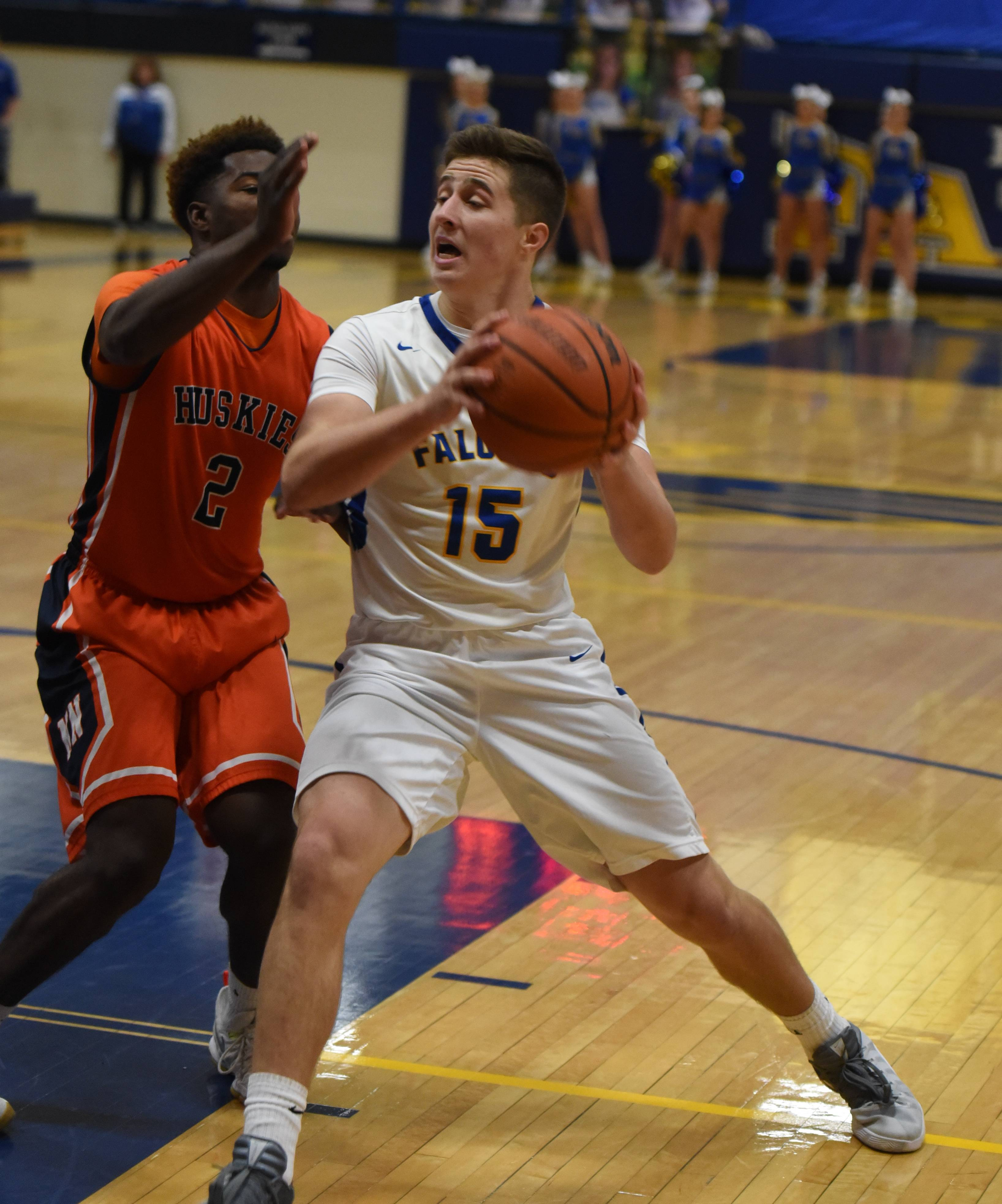 Images from the Naperville North vs. Wheaton North boys basketball game on December 9, 2016 in Wheaton.