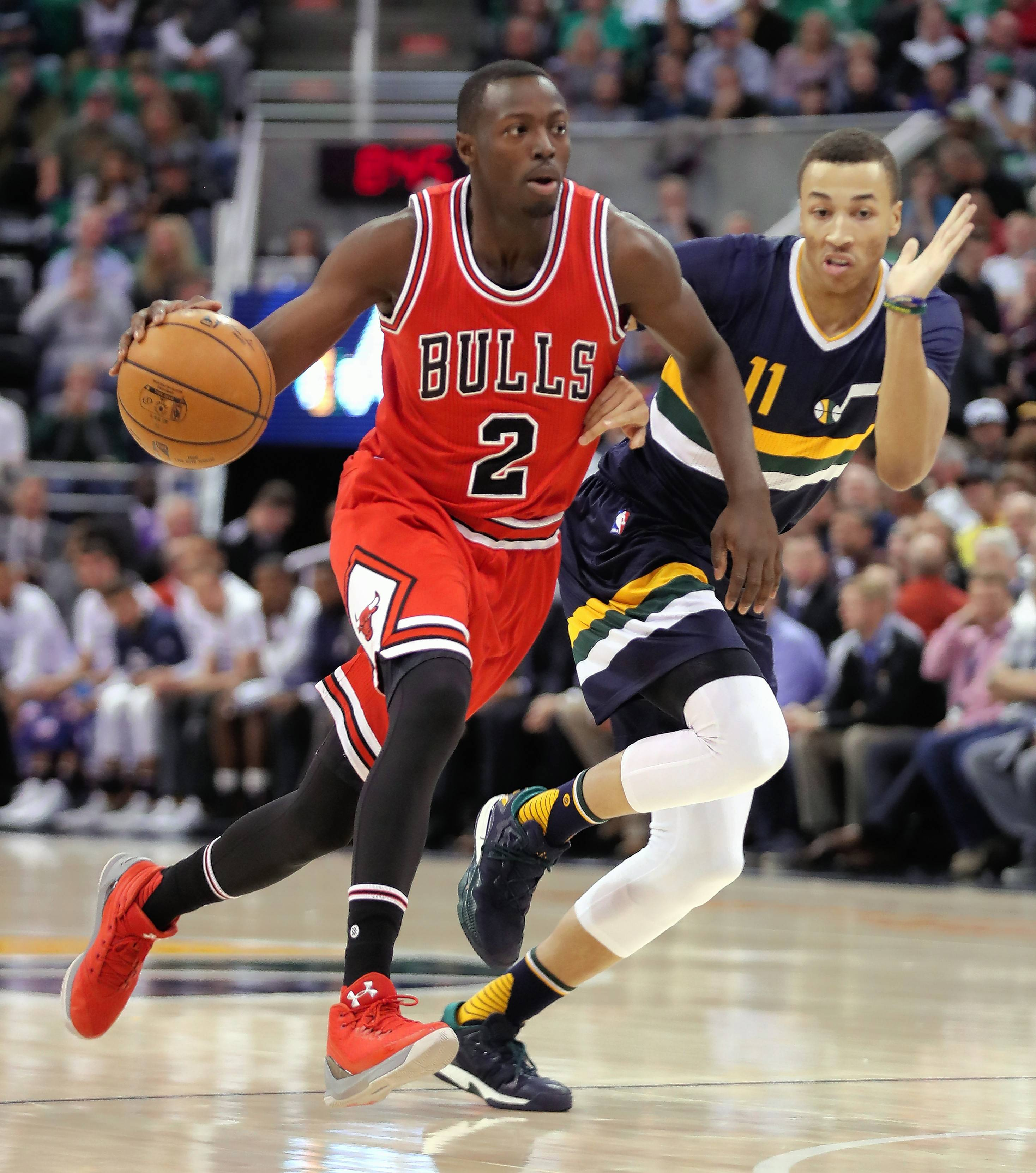 Chicago Bulls guard Jerian Grant is expected to play for the Windy City Bulls tonight. Grant had 34 points in a D-League game earlier this season.