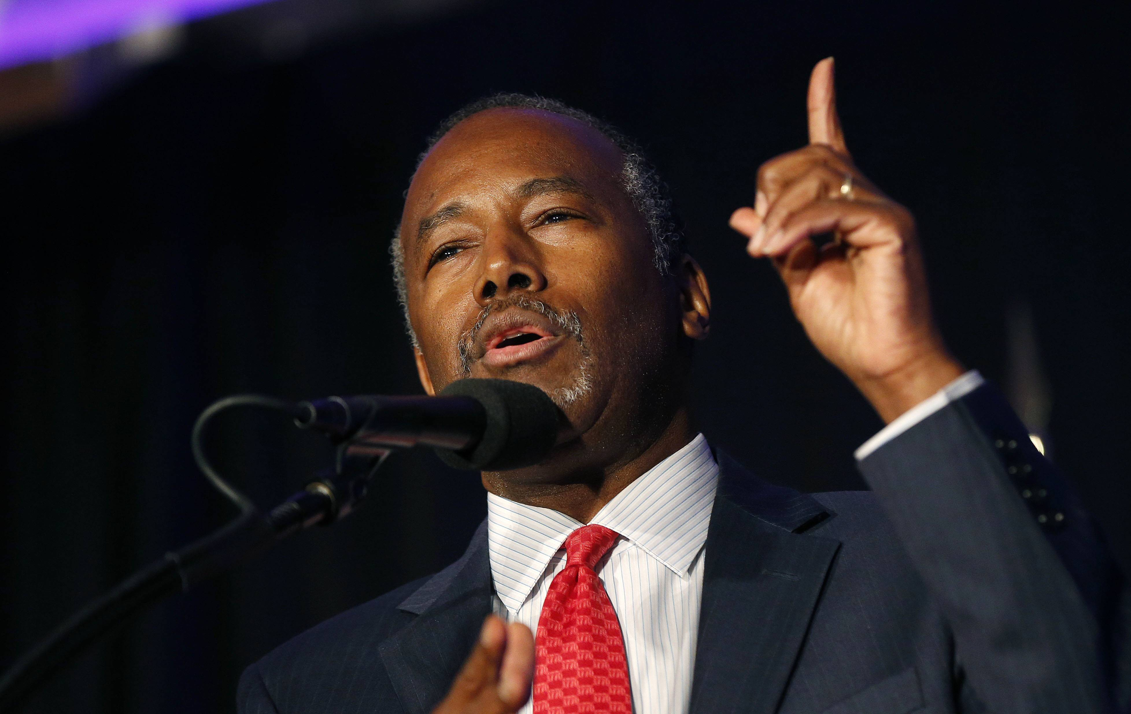 Ben Carson bows out of headlining Judson forum; school might postpone program to fall