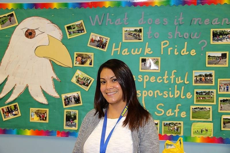 Glenbrook Elementary School social worker Monica Rivera is among 11  recipients of the