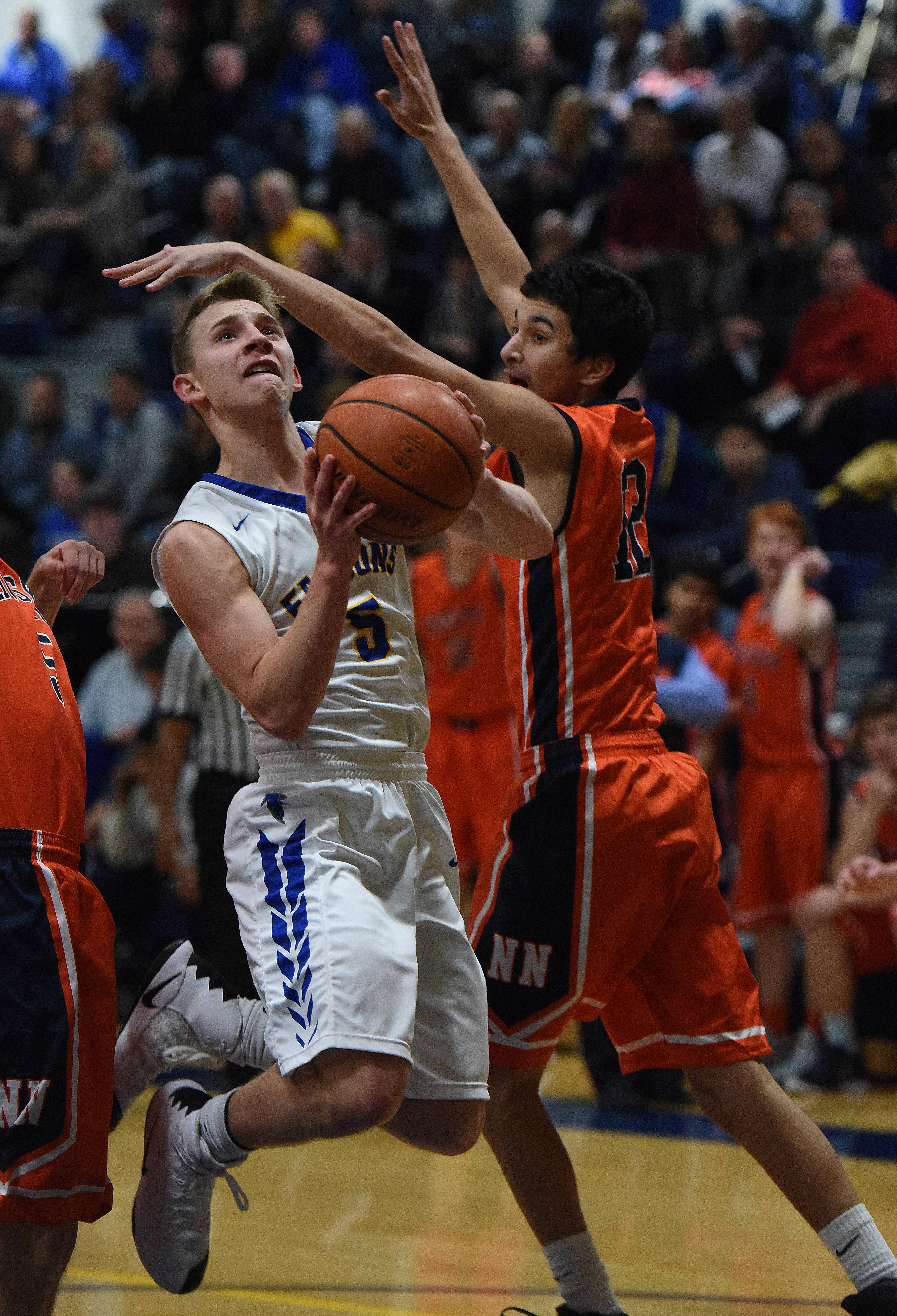 Naperville North pulls out win in overtime