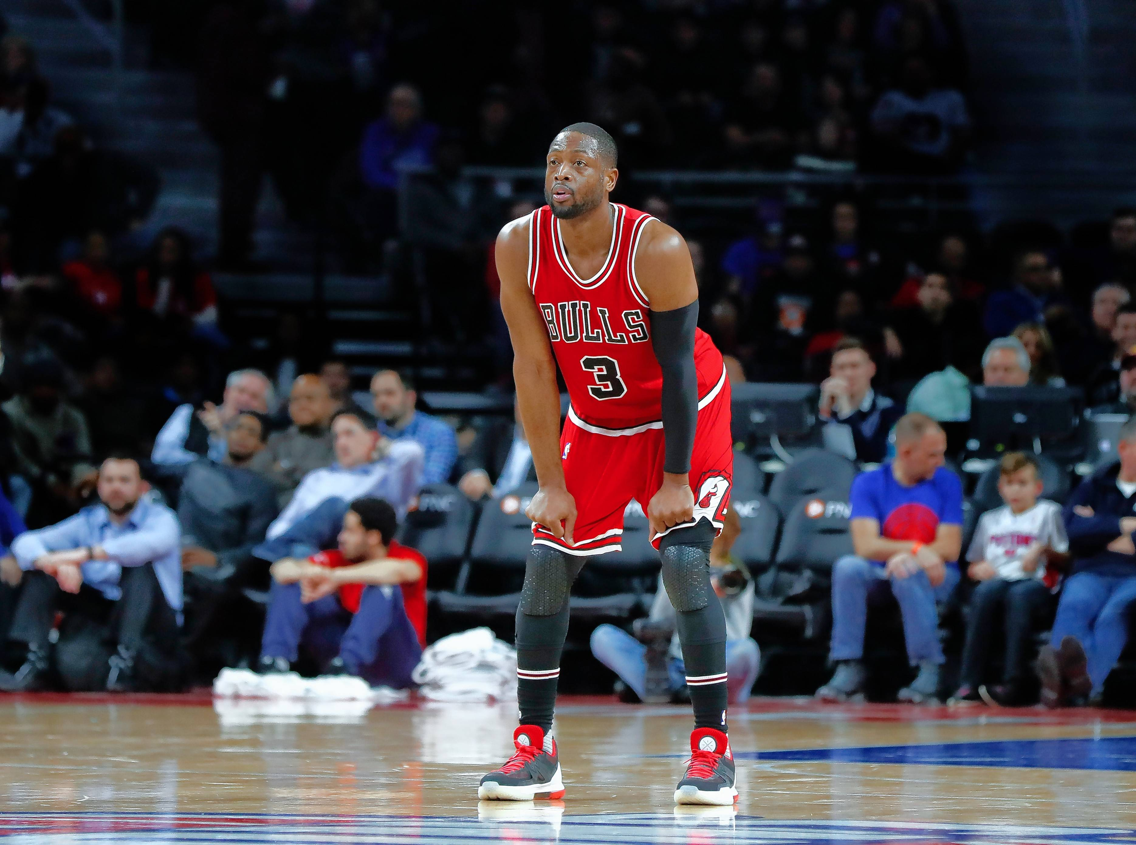 "Seeing Dwyane Wade in a Bulls form doesn't sit right with Heat coach Erik Spoelstra. ""That's not ever going to look right, him in a Bulls uniform,"" Spoelstra said, before talking about what Wade brings to a team. ""He's a Hall of Famer on the court, but he's a Hall of Fame person. Those qualities immediately are felt in a locker room."""