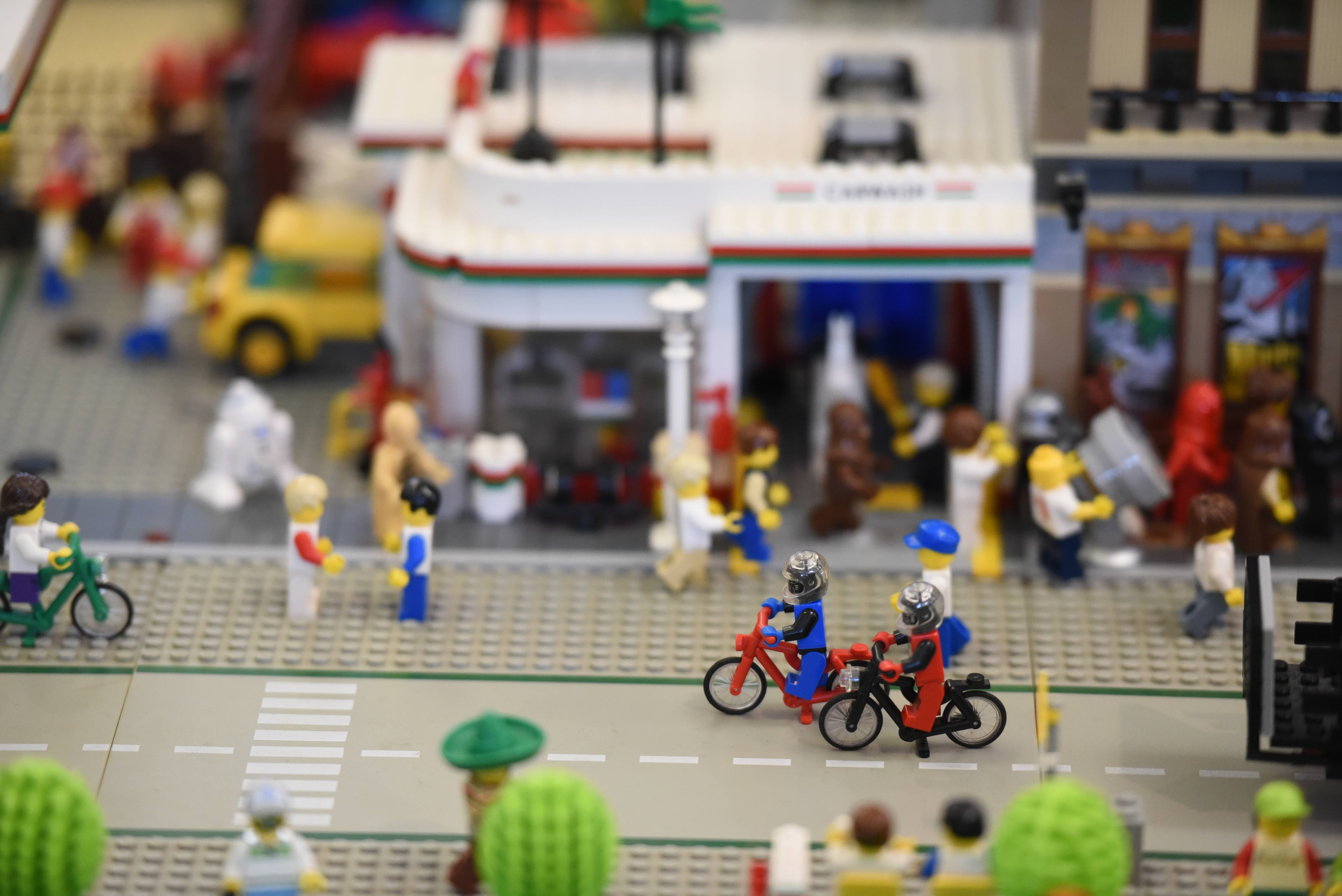 The Northern Illinois Lego Train Club sponsored its 10th annual show Saturday at Cantigny Park. Thousands of people show up every year.