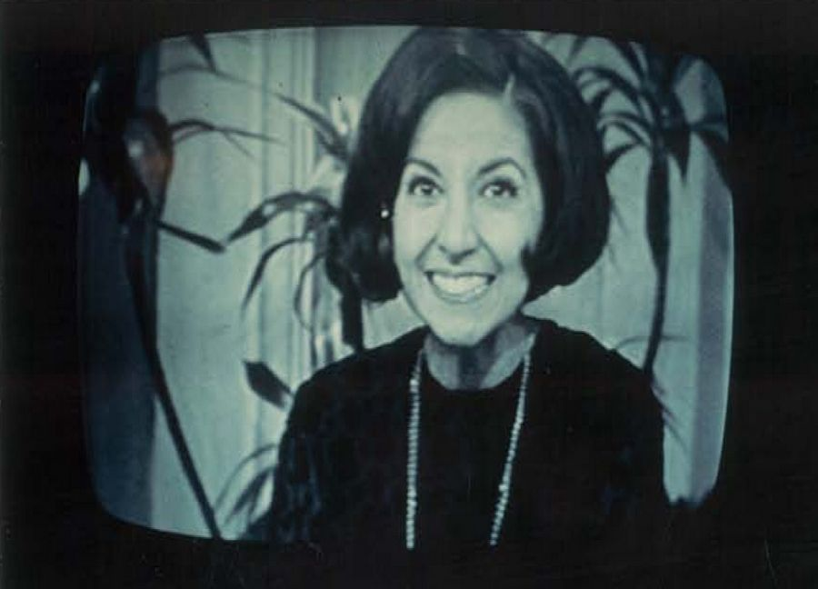 "Mona Abboud of Sleepy Hollow when she appeared on ""The Tonight Show"" with Johnny Carson."