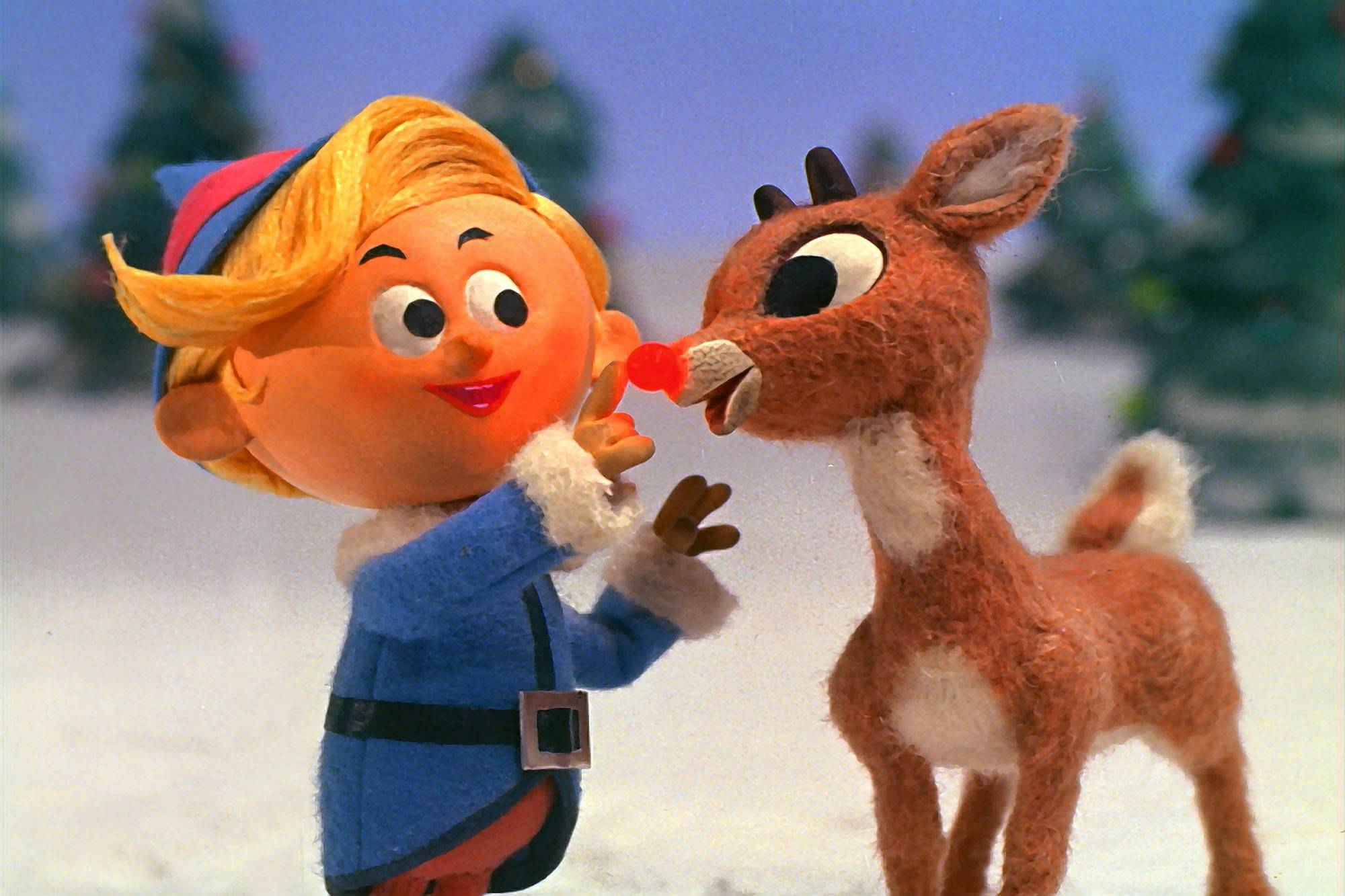 "See the Rankin/Bass holiday special ""Rudolph The Red-Nosed Reindee"" at the holiday film medley at the Arcada Theatre."