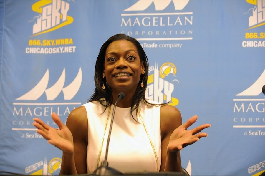 After two seasons as an assistant with the Los Angeles Sparks, Amber Stocks is the new general manager and head coach of the Chicago Sky.