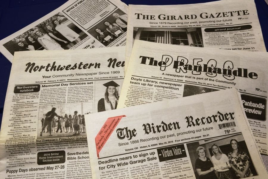 Arlington Heights-based Paddock Publications, publisher of the Daily Herald, announced it will purchase a printing plant and four weekly newspapers in central Illinois.