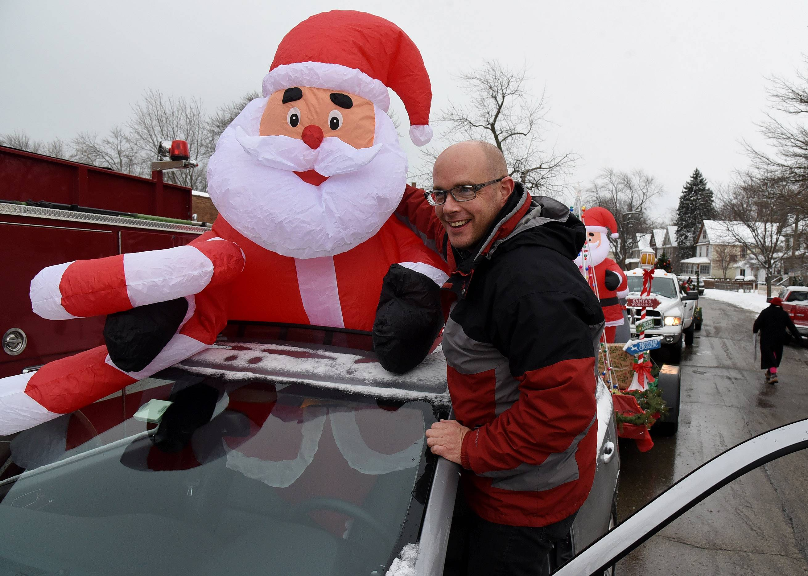Christmas parade, toys and food giveaway in Waukegan