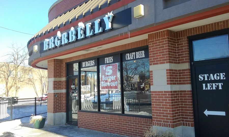 BrgrBelly is closing its location in Chicago's Gladstone Park at the end of the year and relocating next summer to Rosemont.