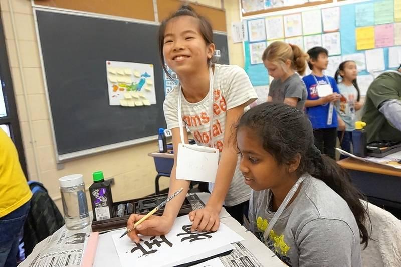Dryden Students Get A Taste Of Japanese Culture