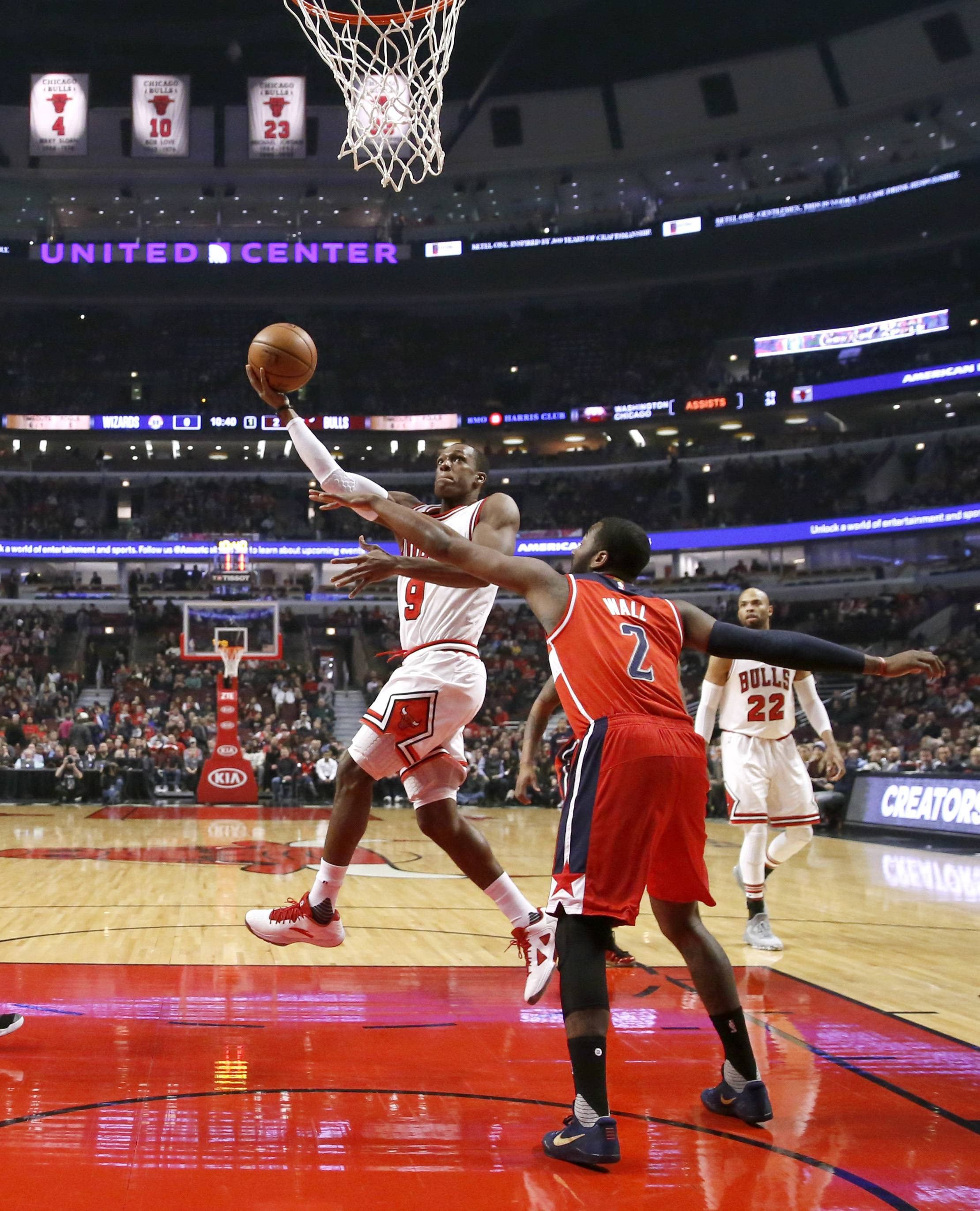 Rondo: Chicago Bulls near bottom of NBA in athleticism