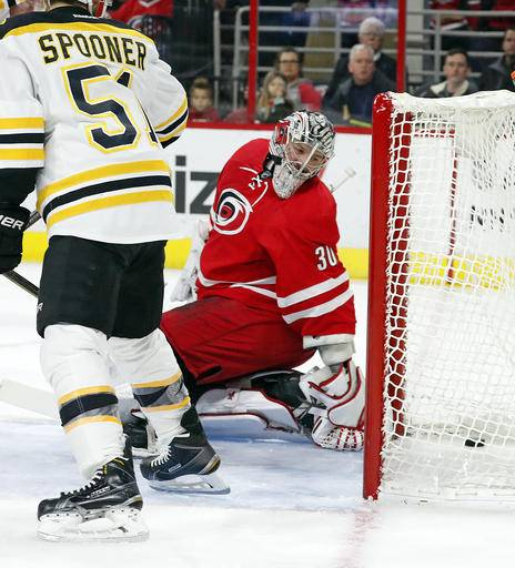 Hurricanes Rally Past Bruins 3-2 In OT For Latest Home Win
