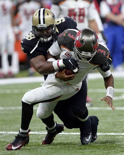 Buccaneers playoff hopes take hit with 31-24 loss to Saints