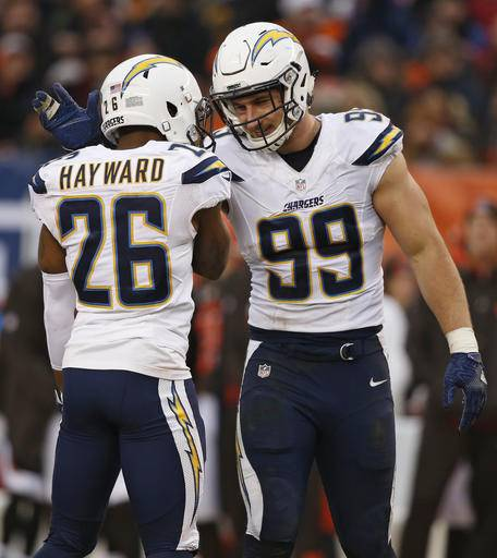 San Diego Chargers Defence: Christmas Gift: Browns Get First Win, Beat Chargers 20-17