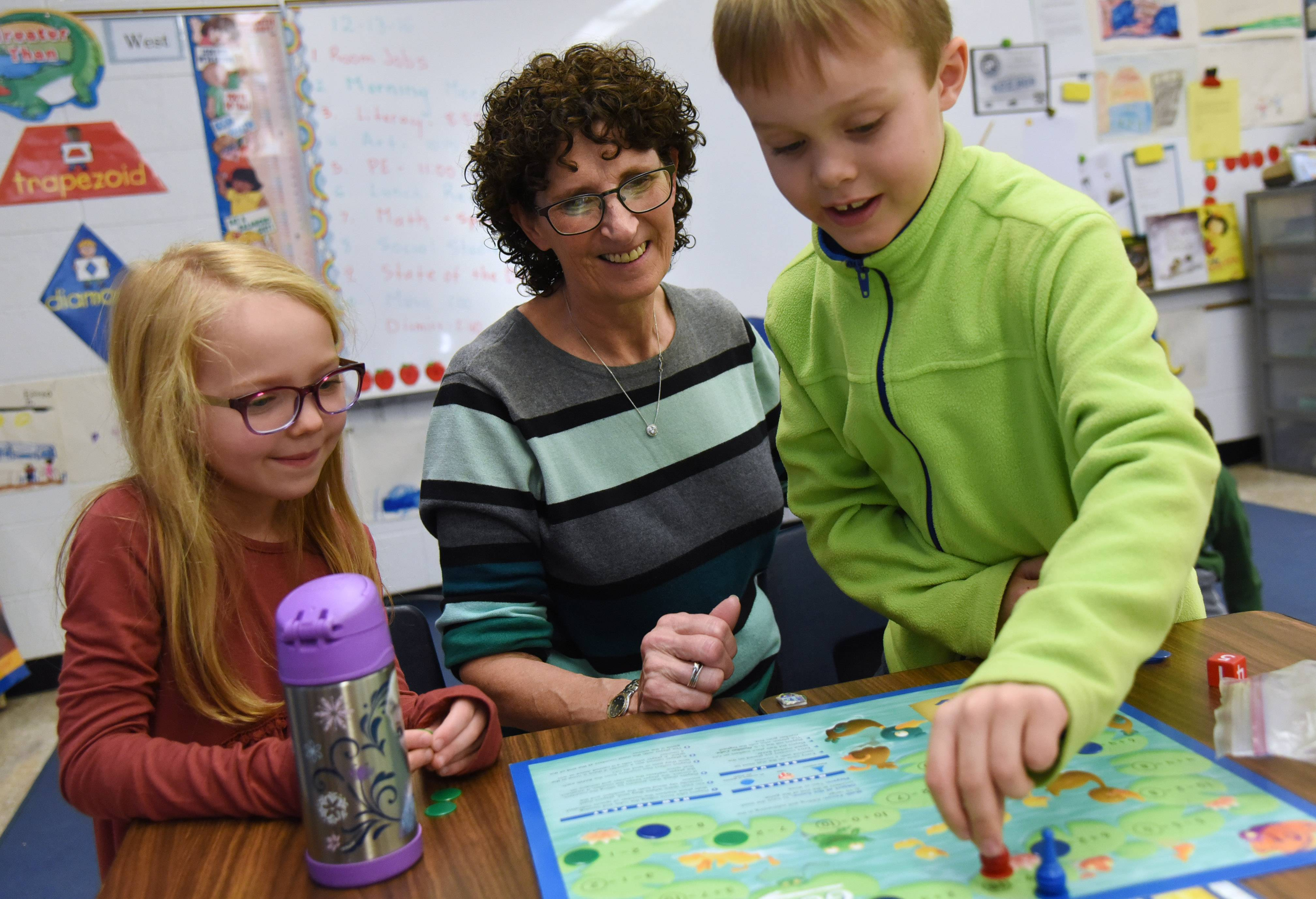 The top-paying elementary district: Rondout School first grade teacher Roxanne Greenberg is retiring after 38 years in the classroom. The one-school district has the highest average teacher salary -- $95,237 -- among elementary districts in the region.