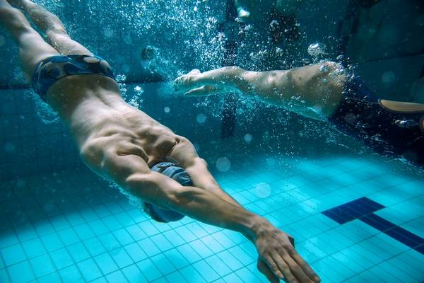 swimming compared to other sports