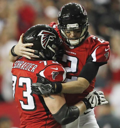 quality design caf32 1df56 Matt Ryan bolsters MVP bid, leads Falcons past Saints 38-32