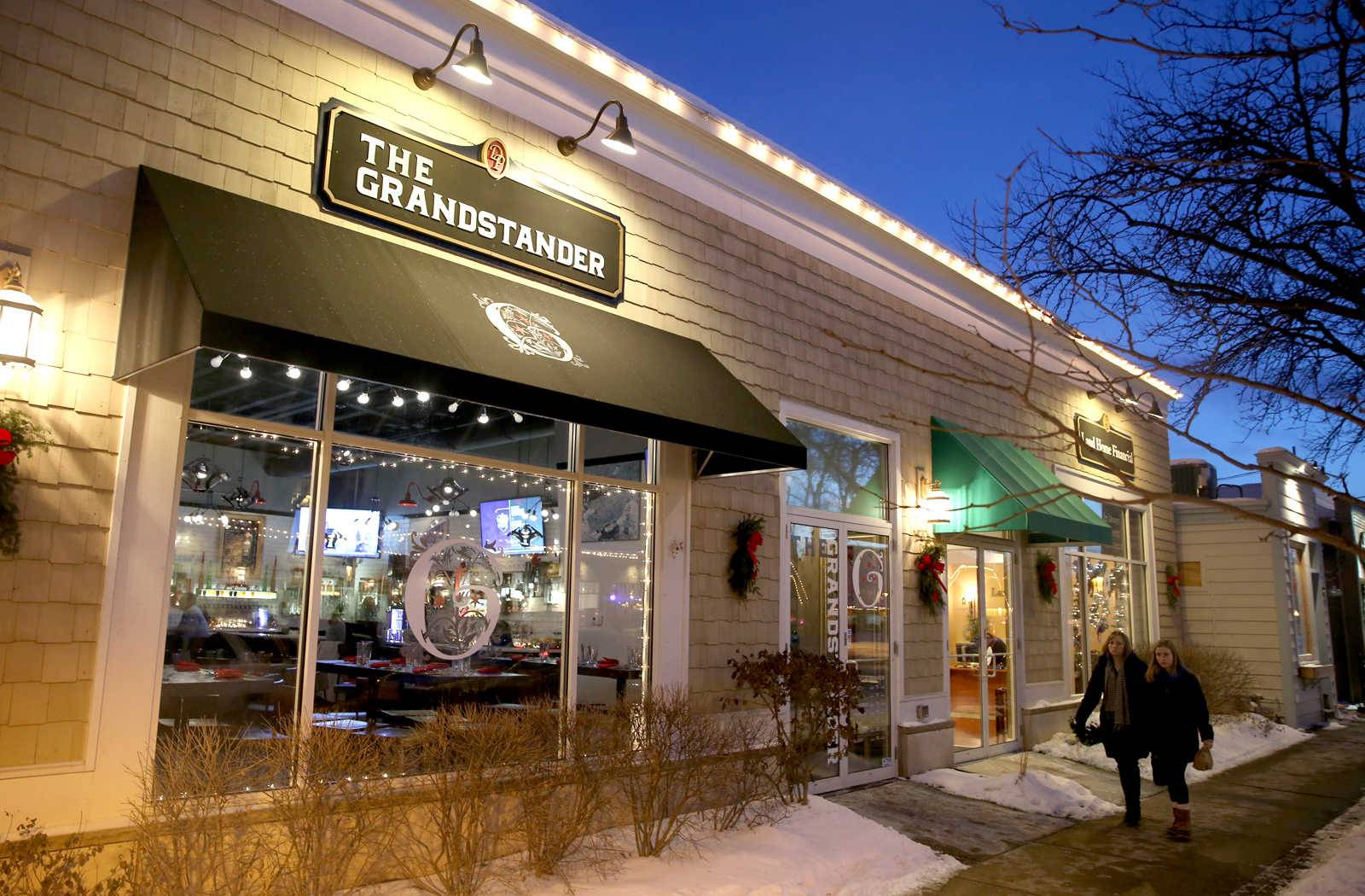 Geneva's Grandstander, which opened in late August, appeals to foodies and sports fans.