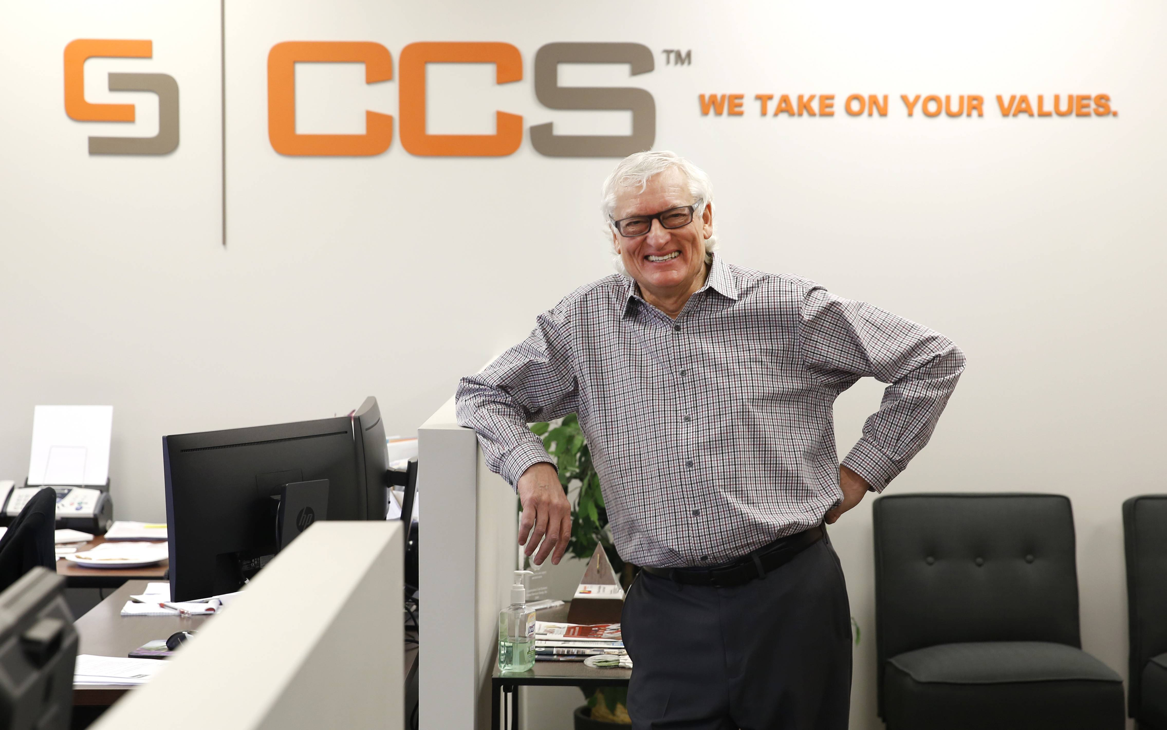 Ian Parr, founder of CCS International in Oakbrook Terrace, said his company has started the Step Up program, which helps someone gain training and an education in the profession of estimators.