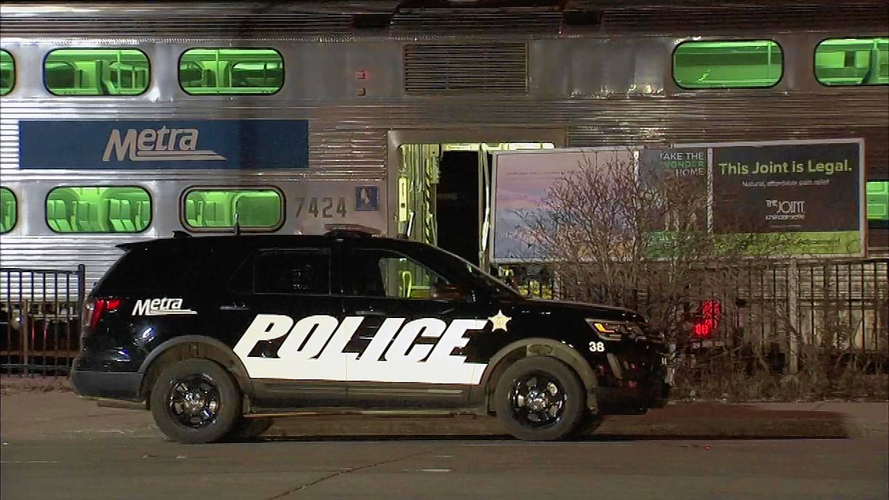 A man fatally shot himself Friday night during a shootout with police on a Metra train in Deerfield, officials said.