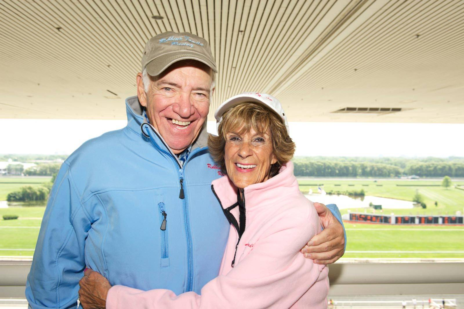 Sheldon and Barbara Robbins celebrated their 50th wedding anniversary in 2013 at Arlington Park. Sheldon Robbins died Monday. He was 78.