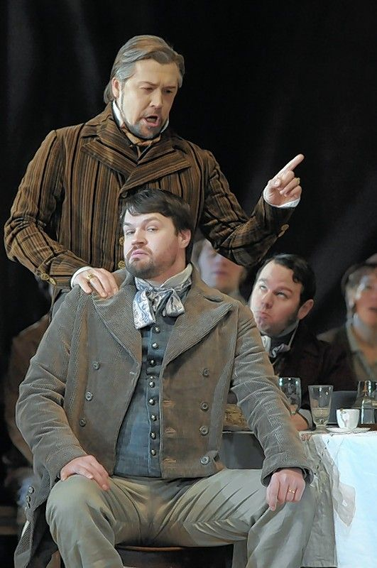 "Park Ridge singer/teacher David Govertsen, front, played the role of Ortel in Lyric Opera's past production of ""Die Meistersinger von Nurnberg."""
