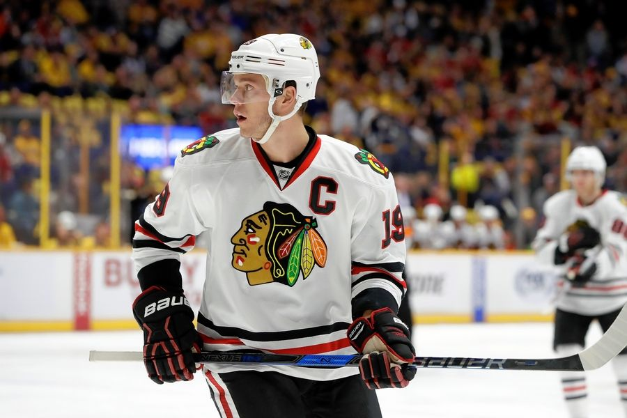 new product 96139 c76f6 Toews surprised to join 3 Blackhawks at NHL All-Star Game