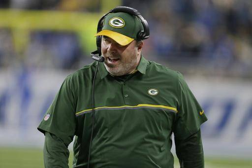 FILE - In this Sunday, Jan. 1, 2017, file photo, Green Bay Packers head coach Mike McCarthy walks the sidelines during the first half of an NFL football game against the Detroit Lions in Detroit. McCarthy has steered the Packers from a potentially disastrous start at 4-6, to a team that looks again like it could win the Super Bowl following a seven-game winning streak. (AP Photo/Duane Burleson, File0
