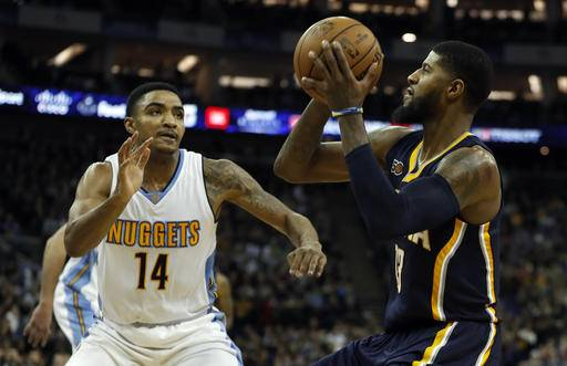 Jokic, Chandler help Nuggets roll past Pacers in London