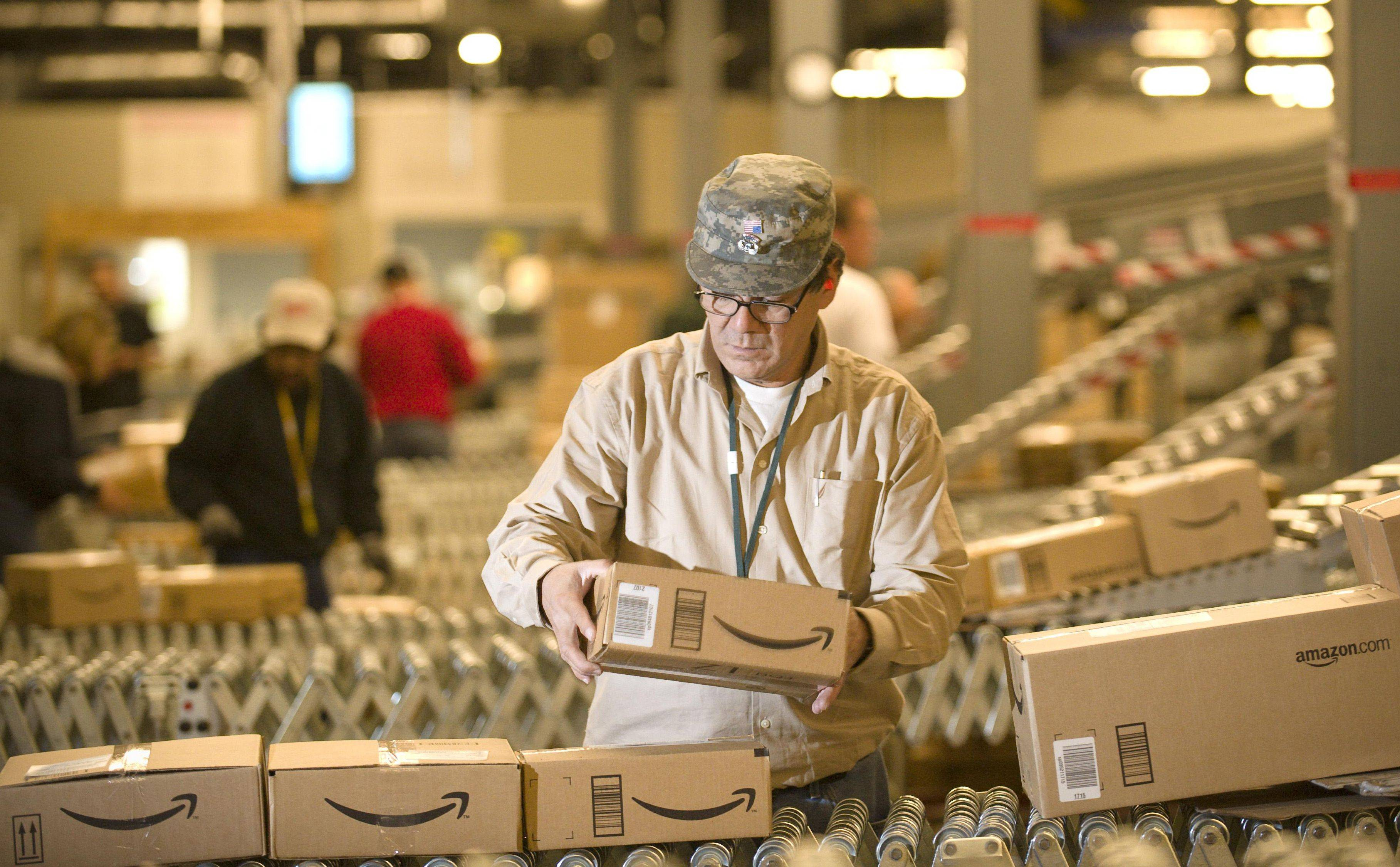 Amazon says hiring will include a broad range of positions, including engineers and software developers but also big teams to work in its growing network of fulfillment centers.