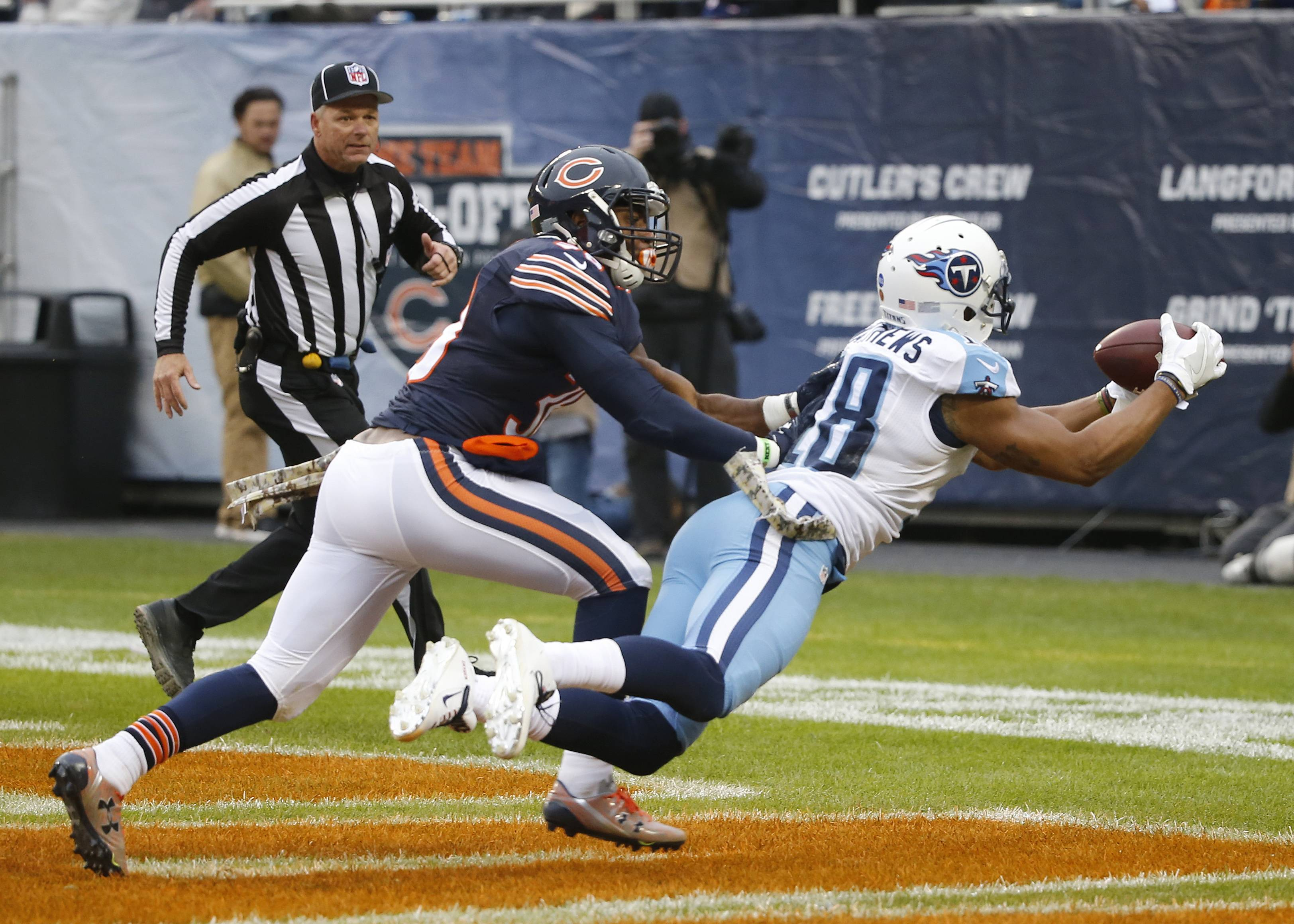 Chicago Bears free safety Adrian Amos, along with Harold Jones-Quartey and rookie Deon Bush, combined for all 32 starts at safety but managed just 10 pass breakups all season. The Bears secondary is a major focus going forward, general manager Ryan Pace said.