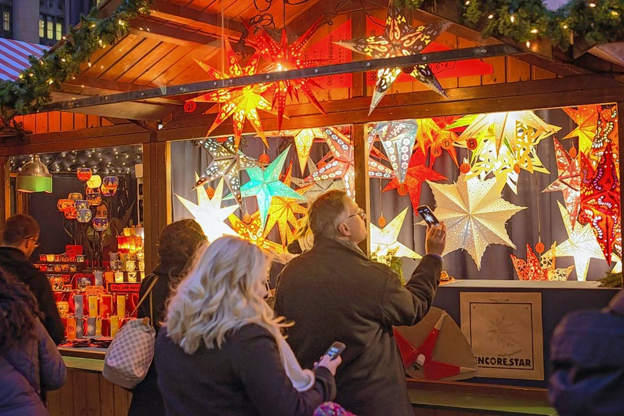 An estimated 208,000 visitors browsed 33 vendors and ate 73,500 apple cider doughnuts during the 21-day run of the first Christkindlmarket at the Naper Settlement late last year.