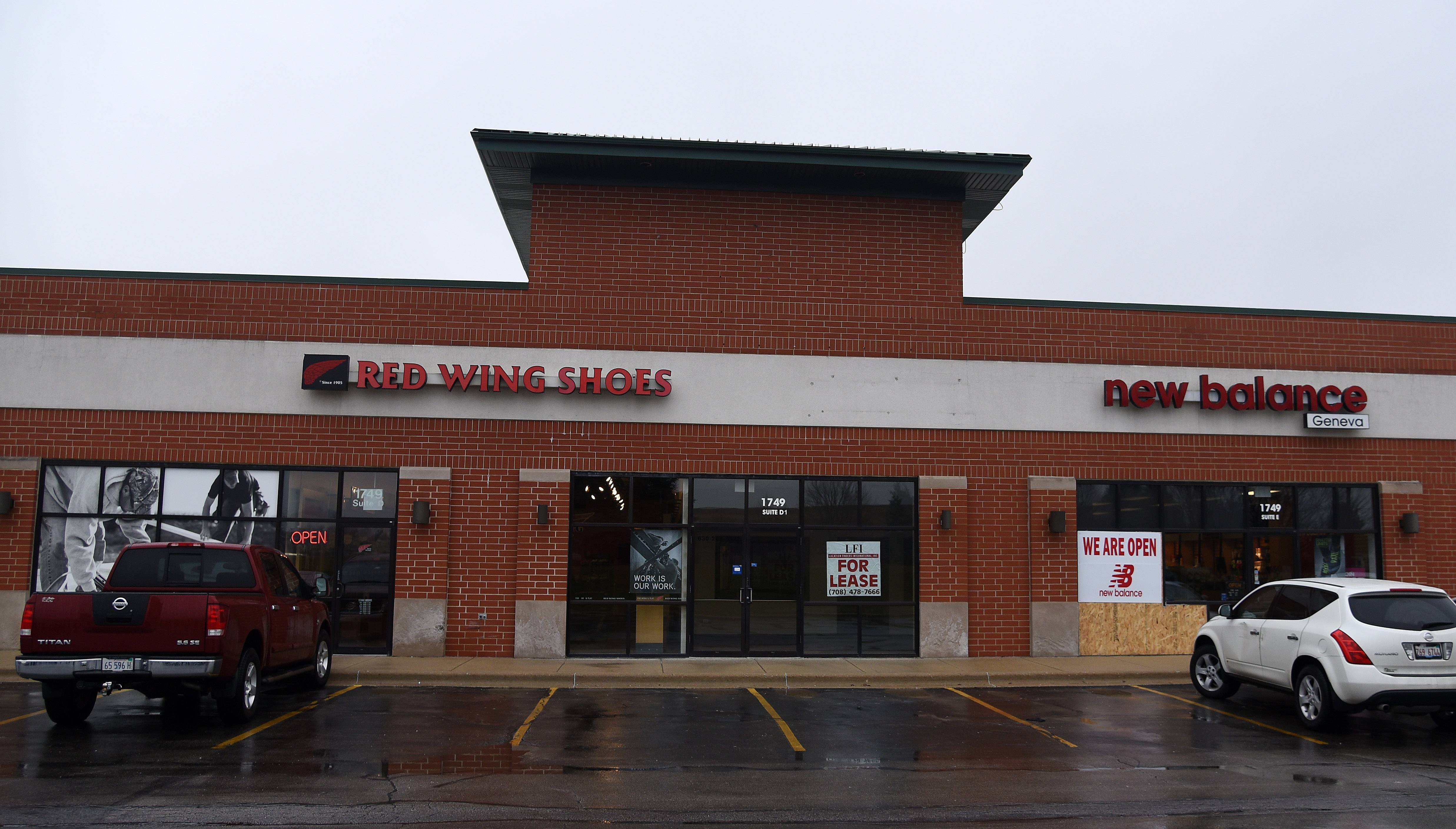 Although they have plenty of competition along the Randall Road corridor, the Red Wing Shoes and New Balance stores in Geneva remain successful due to great customer service, managers say.